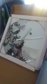 KARLSSON Mirrored Wall Clock