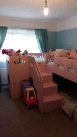 Princess triple bunk beds