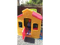 Little tikes outdoor playhouse VGC