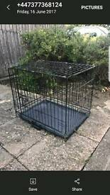 Med dog cage excellent condition