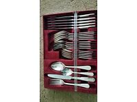 Viners Silver Plated 24 Piece Cutlery Set