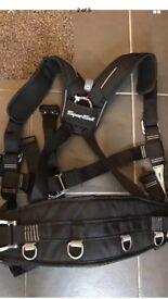 Spanset climbing harness