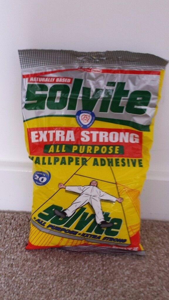 Solvite wallpaper adhesive