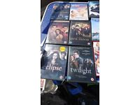 42 dvds most are films