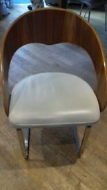 Dwell Curved Dining Chair