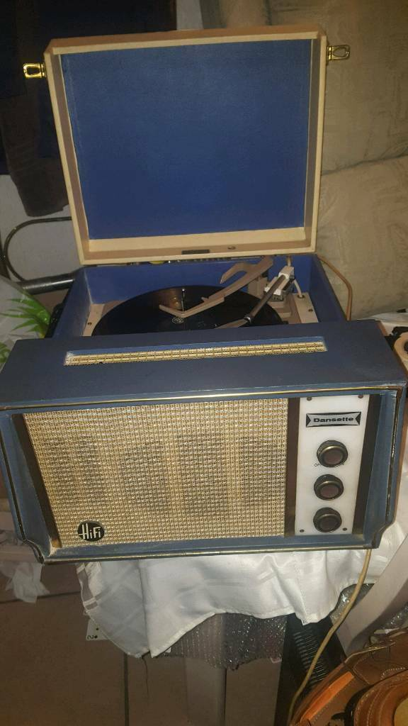 Dansette record player.needs attention