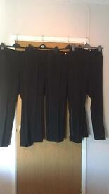 Brand new clothes - black trousers - various sizes available