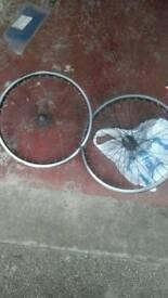 X2 sets of bike rims