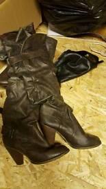 Ladies Aldo boots size 5