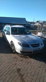 Saab 9-5 very good condition, low milage, long MOT
