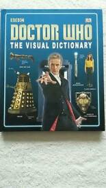 Doctor Who reference books.