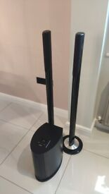 Standing speakers with sub