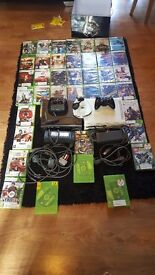 Joblot of xbox 360 consoles and games