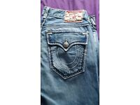 True Religion Jeans Billy Giant Big T Size 34 (USA)