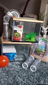 Mouse/hamster/gerbil tank/cage