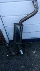 Ford stainless steel exhaust cost £254