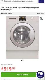 CDA WASHER/Dryer