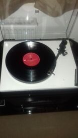 Turntable Rega RP1. Carbon cartridge. Record store day. Boxed...little used