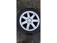 """Vw, seat or skoda 16"""" alloys with snow tyres"""