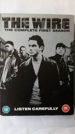 The Wire, complete box set, season one.