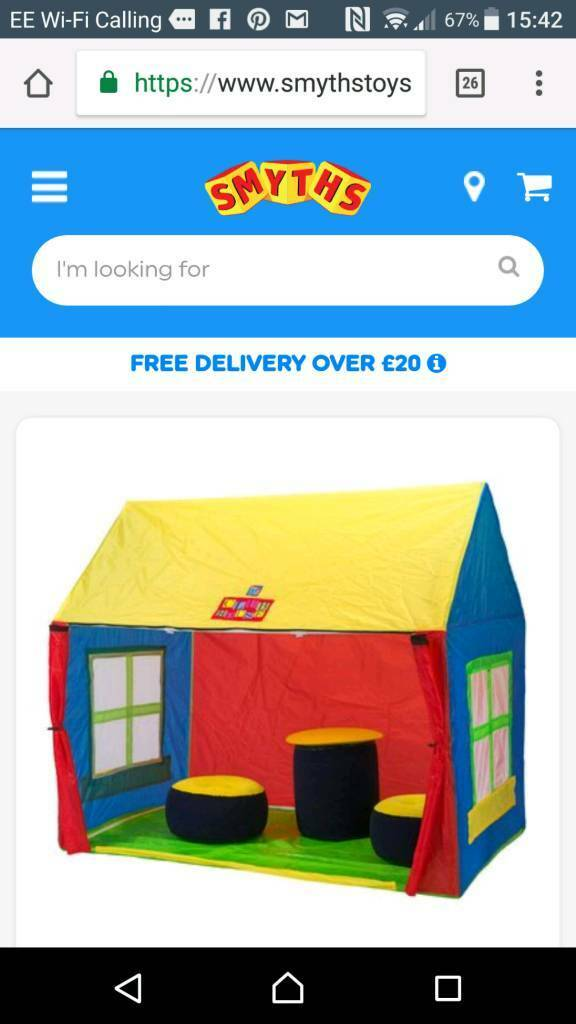 Childrens tent
