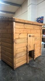 timber coal bunker
