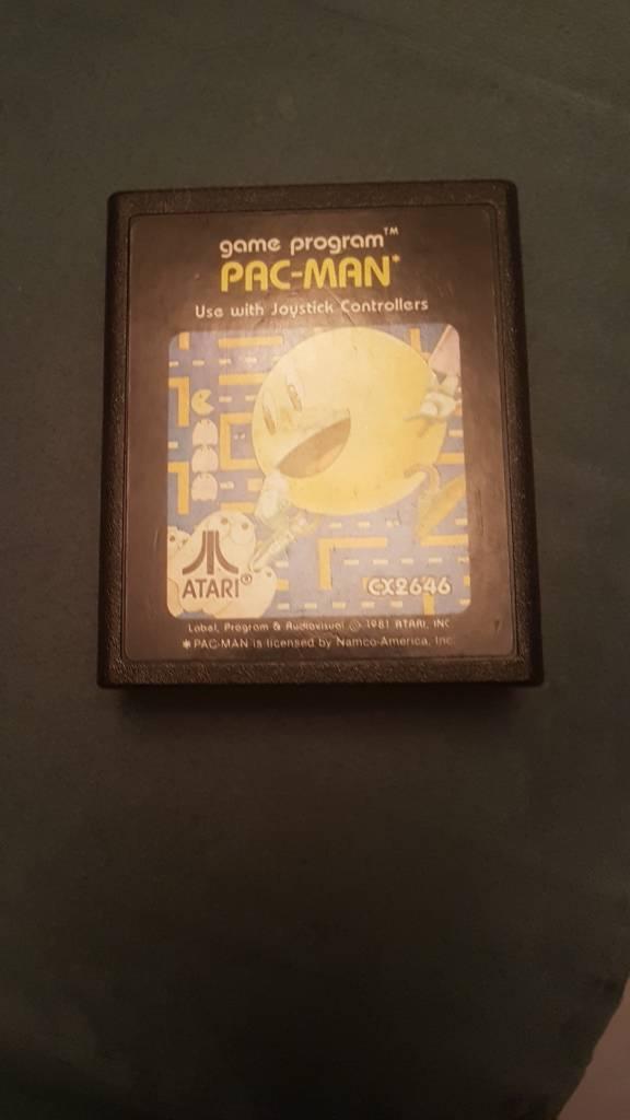 ORIGINAL PAC-MAN CART