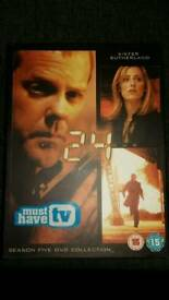 Series 1&5 dvds