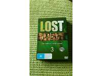Lost tv dvd box set season 3