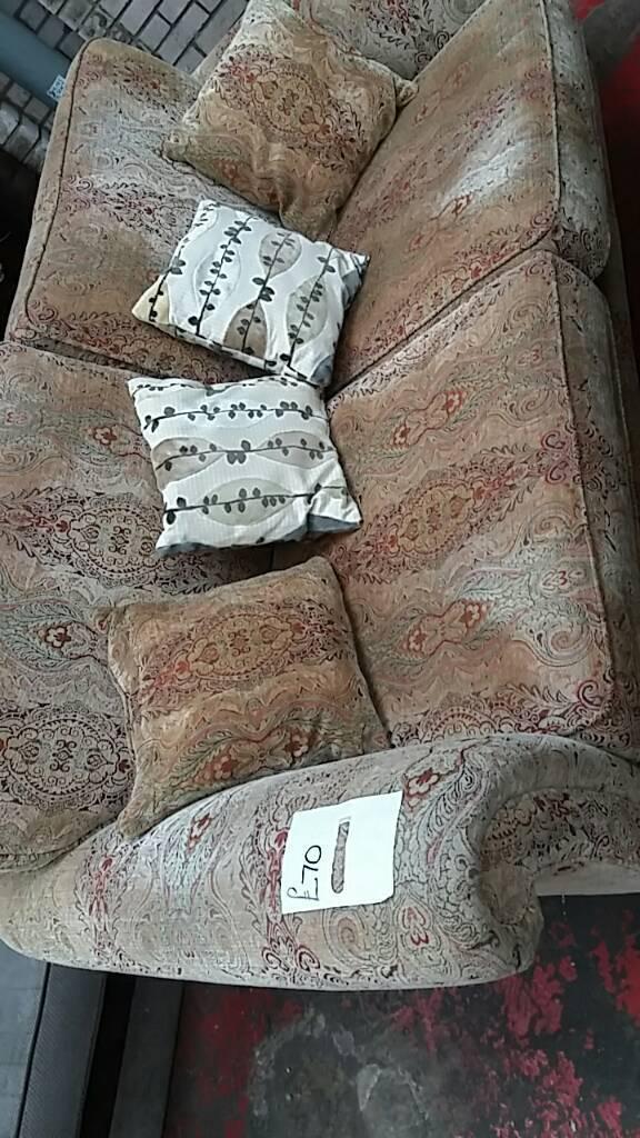 Flower patten sofa