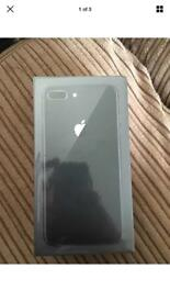 Apple iPhone 8 plus boxed sealed