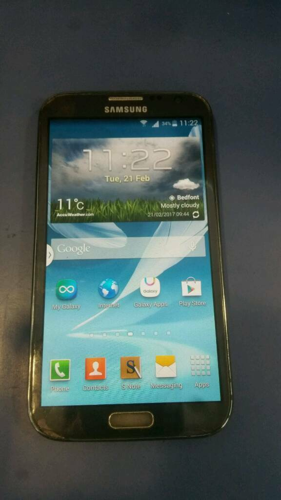 Samsung Galaxy Note 2 smartphone unlocked for85 onoin Kingston, LondonGumtree - Hello brothers and sisters, Am selling a Samsung Galaxy Note 2 smartphone unlocked for £85 ono. The phone is reasonable condition...see photos. I can meet buy in Feltham or Kingston upon Thames. 07868750619Abu Ahmad