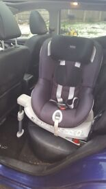 Britax dual fix car seat in excellent condition