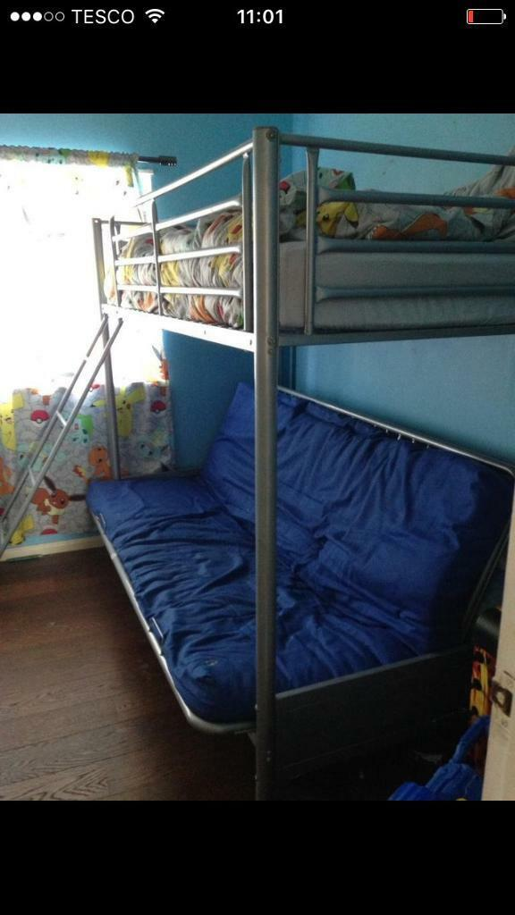 huge selection of d589d 0f41b Bunk bed with futon/double sofa bed | in Derriford, Devon ...