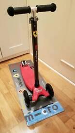 Micro maxi scooter 1 flashing wheels