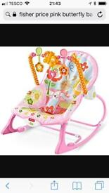 Fisher Price Girls Bouncy Chair