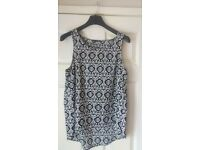 NEW Ladies Women's Summer Top size 14/L