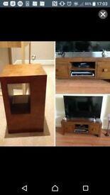 TV Unit and side table