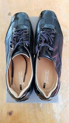 Damenschuhe  Sneaker Gr. 41 schwarz Leder