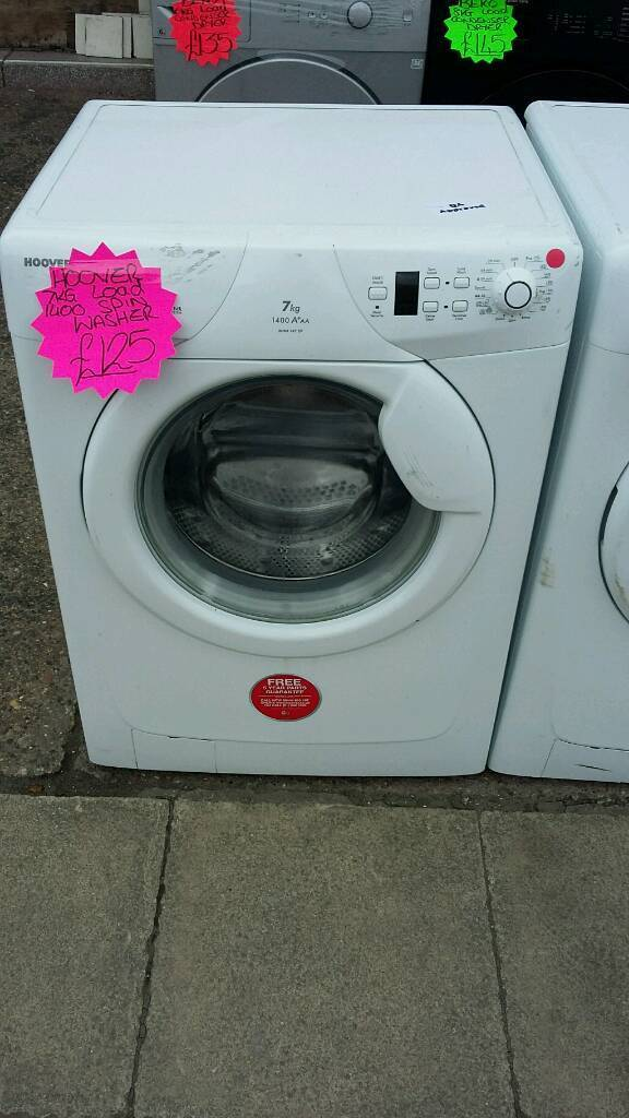 HOOVER WHITE 7KG LOAD 1400 SPIN DIGITAL WASHING MACHINE
