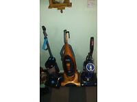 Hoovers x3 All with running motors. - Spares repair
