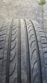 185/60R14 Tyre inc 4-stud wheel.