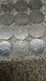 Colection 50p