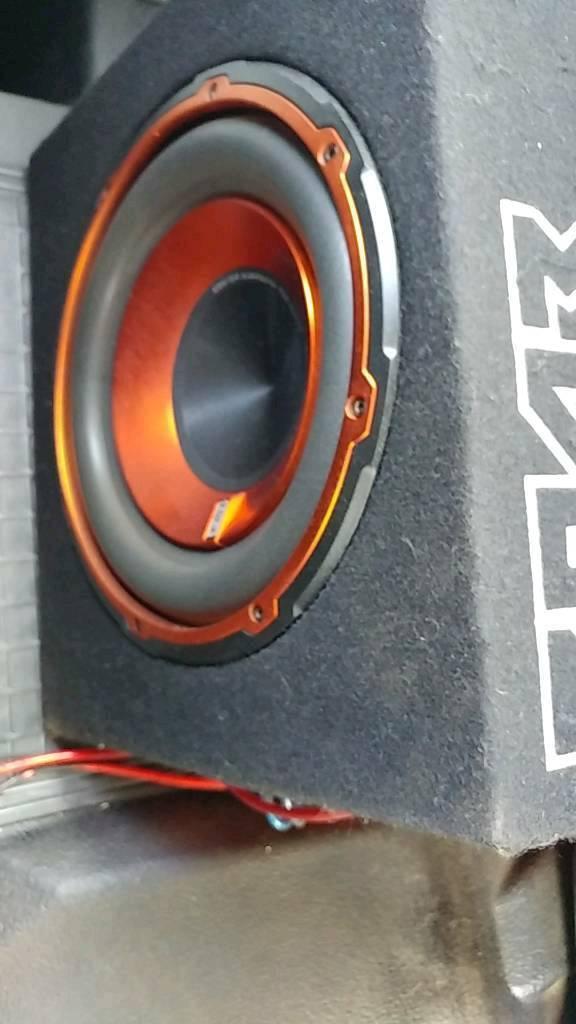 Edge sub and amp 900w