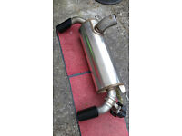 BMW M235i Genuine rear silencer