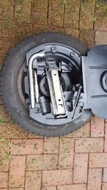 2003 vw polo spare wheel and tool kit