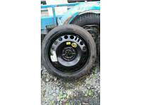 "Vauxhall 16"" space saver wheel and tyre 115/70/R16"