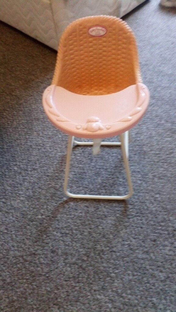 Baby Annabelle high chair excellent condition from a smoke free home