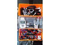 Lego mindstorms ev3 + nxt 2 motors and sensors