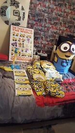Minions bedroom bundle set